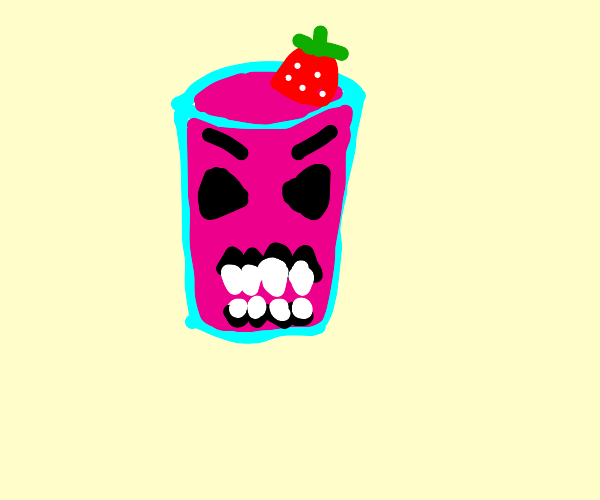 Scary smoothie