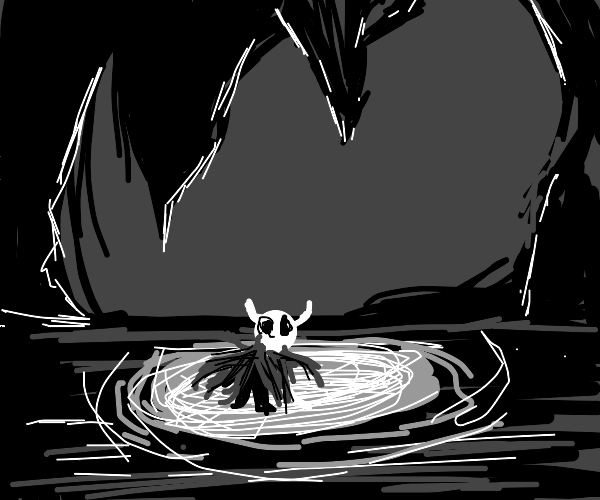 Draw something from Hollow Knight