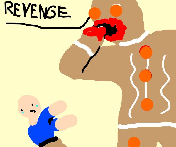 Revengerbread Man