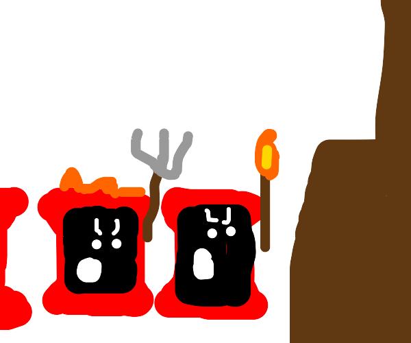Mob of Doritos