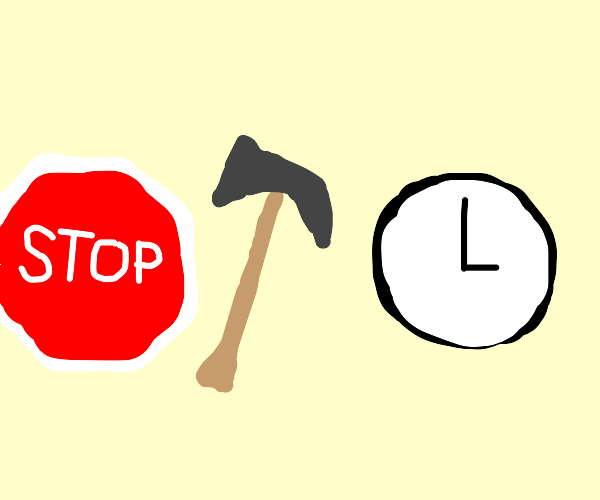 Stop! Hammer time.