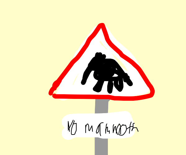 Mammoth Stop Sign