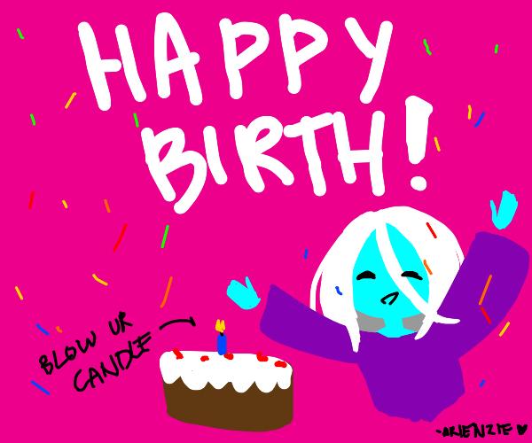 It's my birthday today. -eMercody