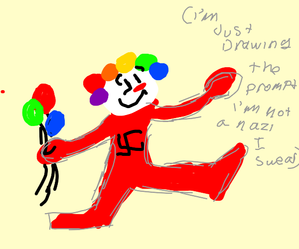 nazi clown
