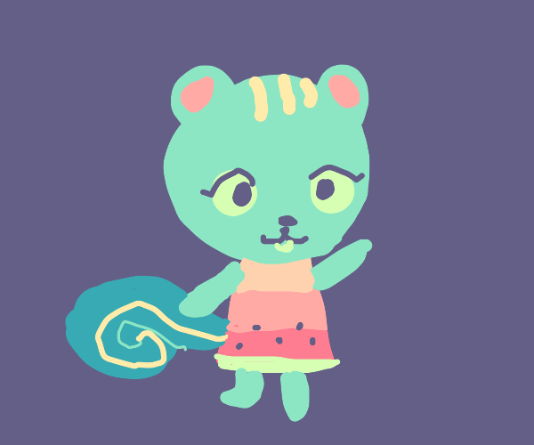 nibbles from animal crossing