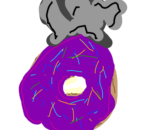 Donut smoking