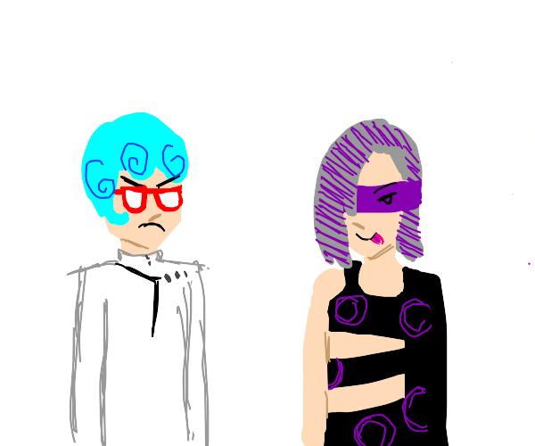Ghiaccio and Melone (JJBA)
