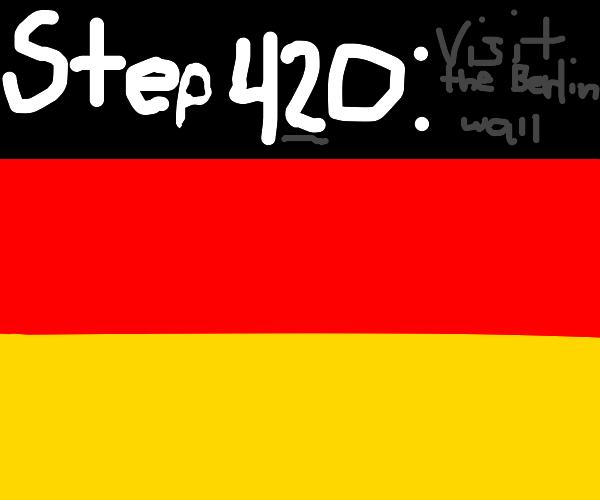 Step#1 : Visit Germany