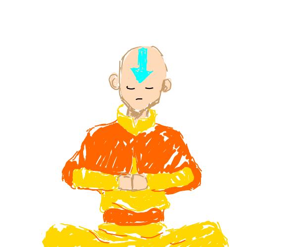 Ang meditating