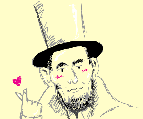 abraham lincoln loves you