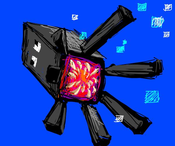 Minecraft Kraken