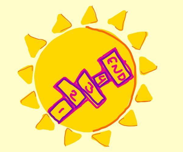 hopscotch in the sun