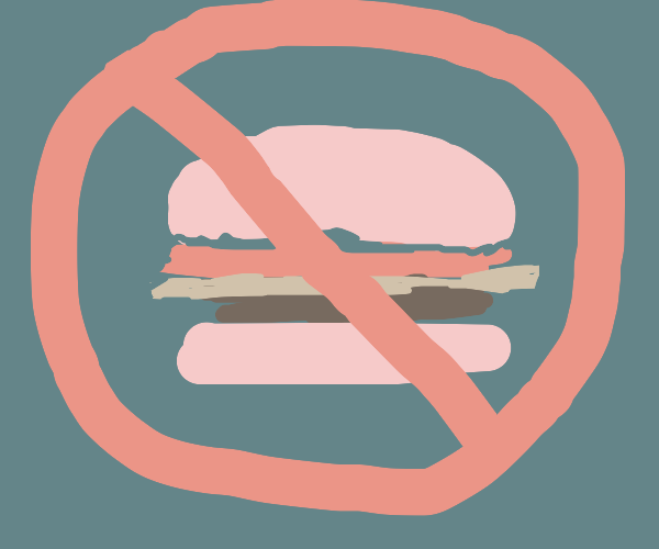 NO HAMBURGERS