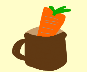 Carrot in a Cup