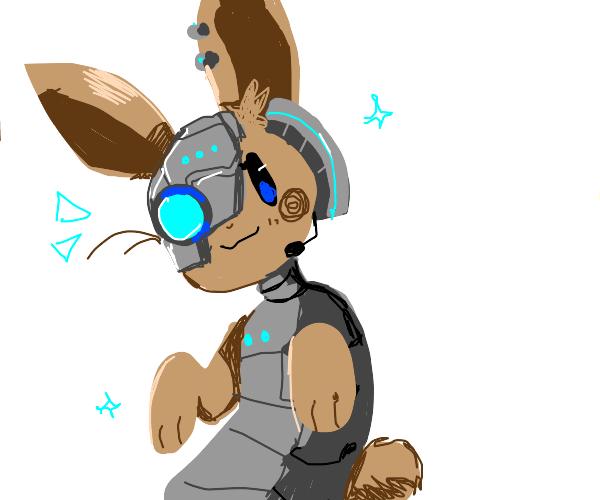 Cyborg rabbit