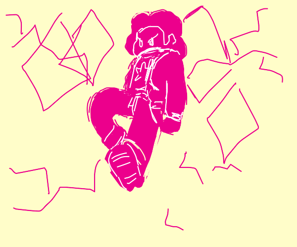 Pink Angry Steven