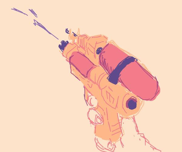 Military-Grade Water Gun