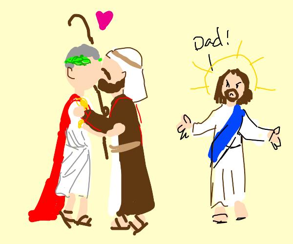 Joseph and Caesar yaoi