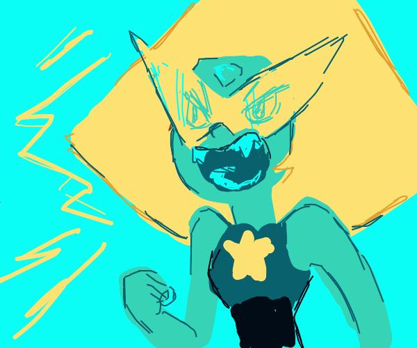 angry peridot