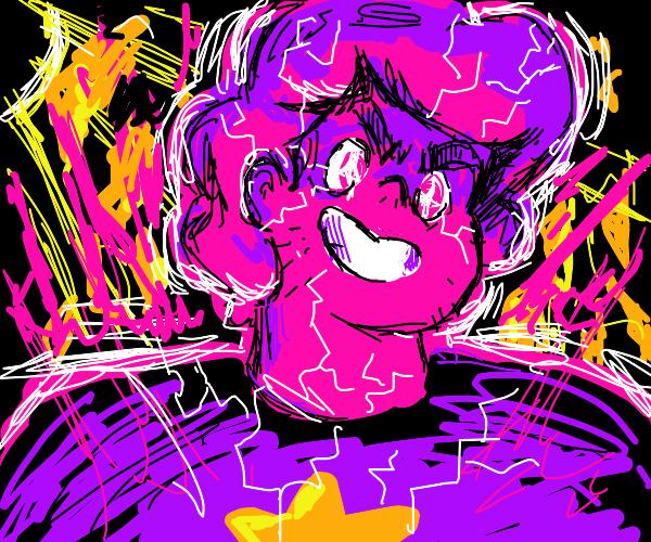 Steven (SU) causes lightning