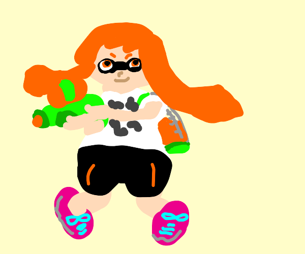 Female squidling (Splatoon)