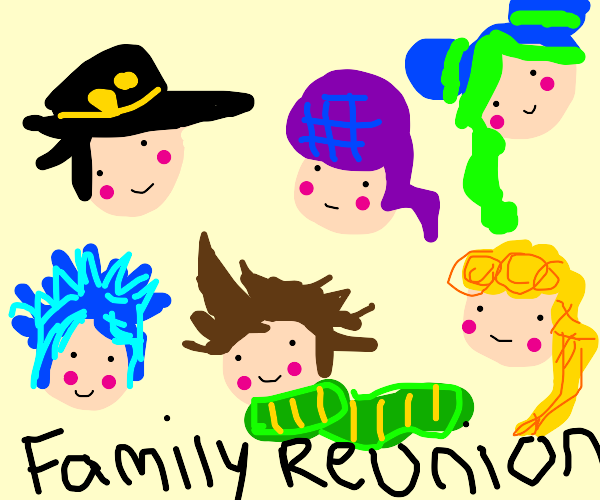 Joestar family reunion