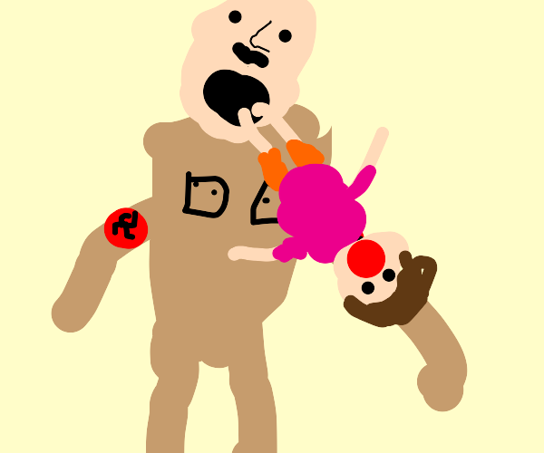 Hitler consuming Dora
