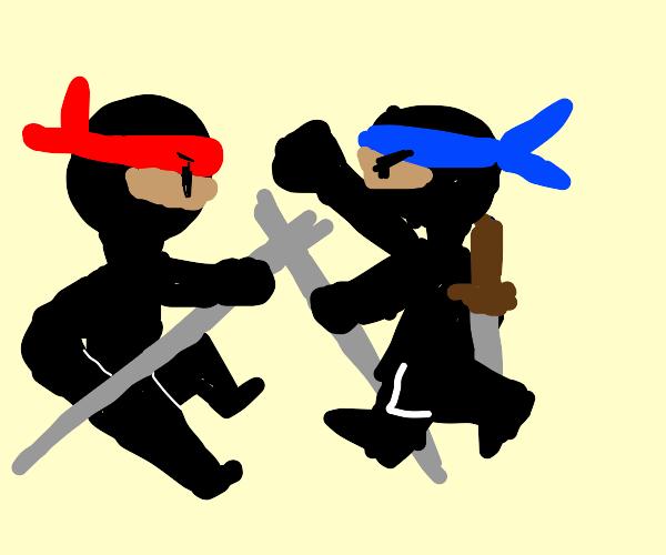 pelea de ninjas