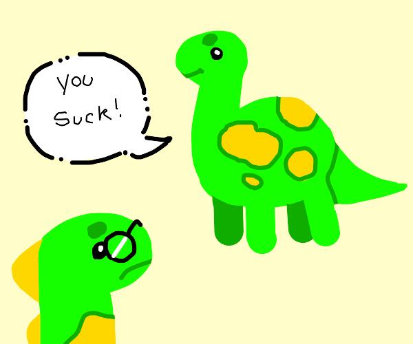 Dinosaur bully