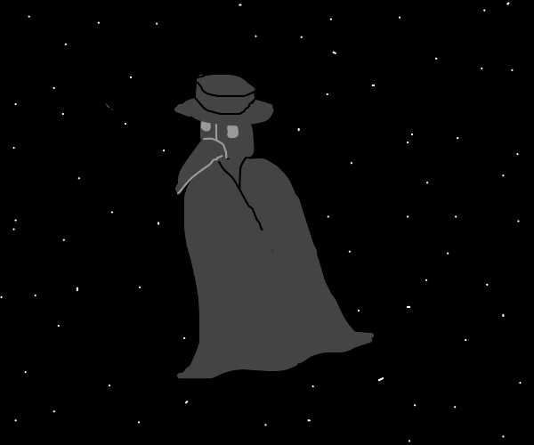 Plague doctor in space