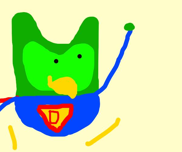 Superhero bird