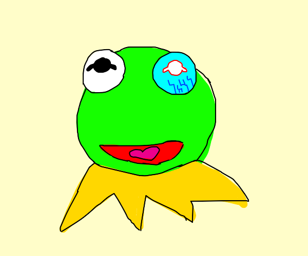 Kermit the frog is a cyborg