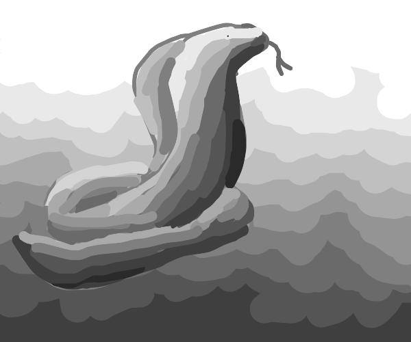 Gorgeous mountain snake