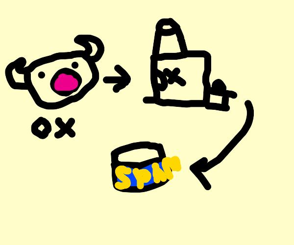 Possessed Ox