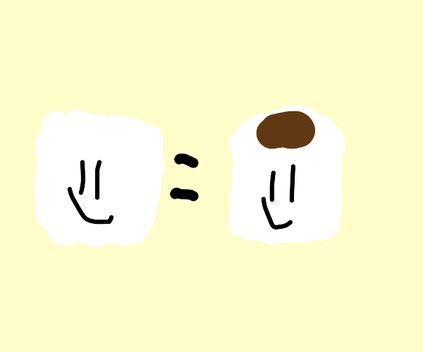 happy marshmallow, or is it a toilet paper?