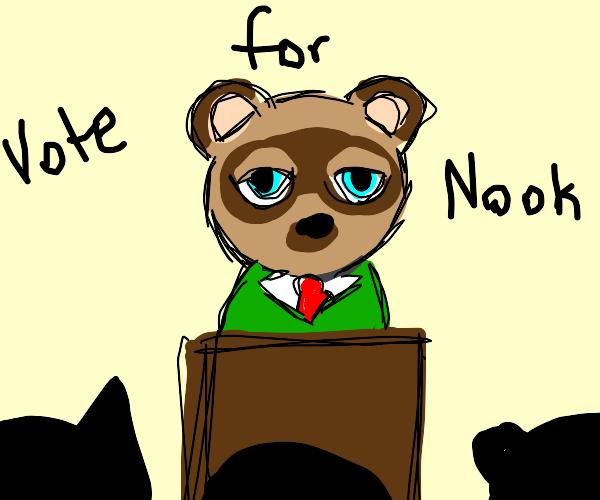 Tom Nook for President