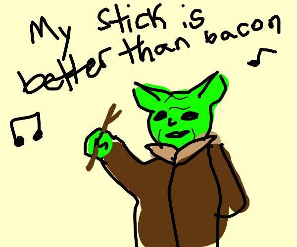 The new hit single by Yoda! Featuring Stick!