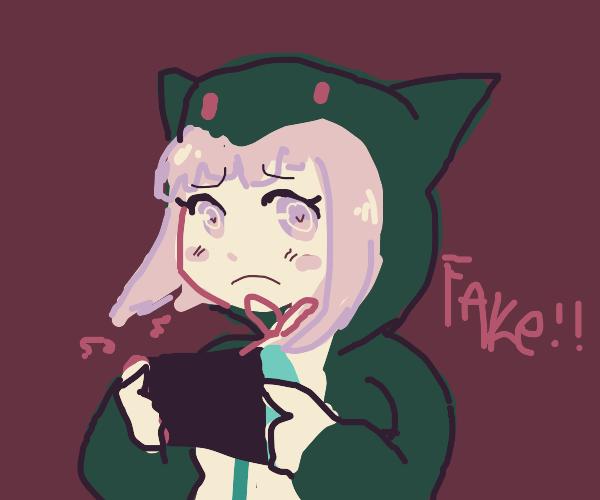 Fake gamer girl
