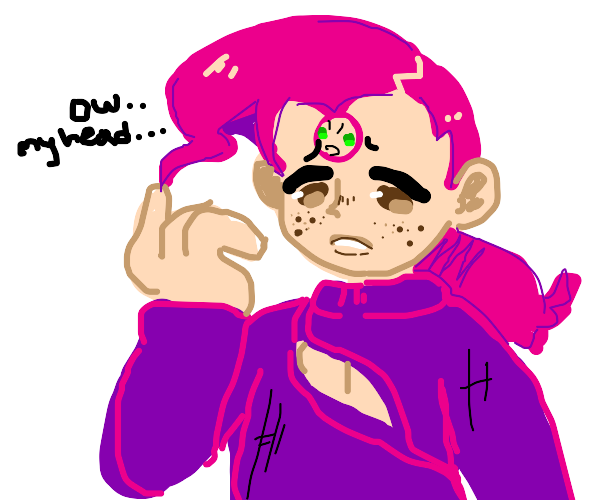 Doppio has a headache
