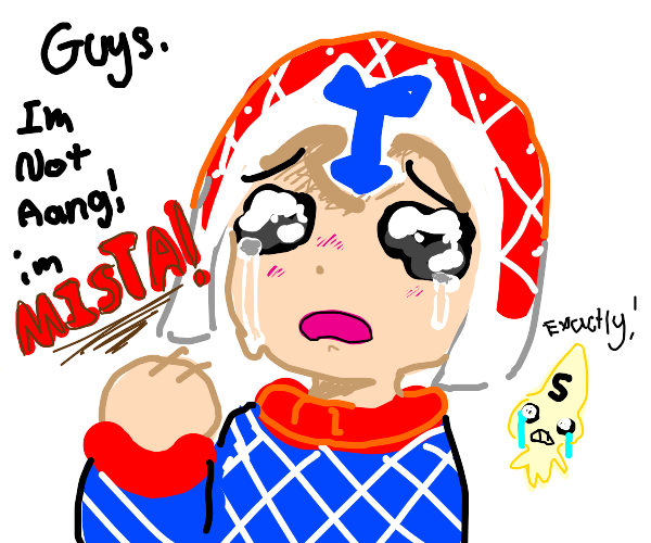 Mista is tired of people calling him Aang