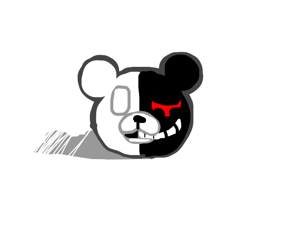 Monokuma as a countryball