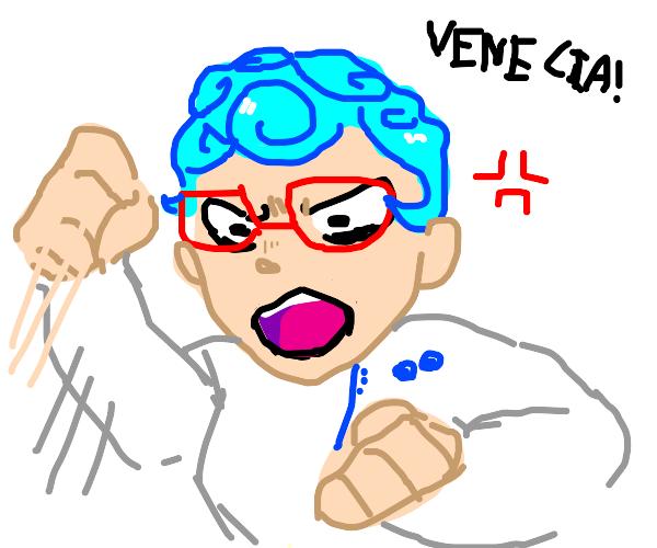 IT'S VENIZIA, NOT VENICE