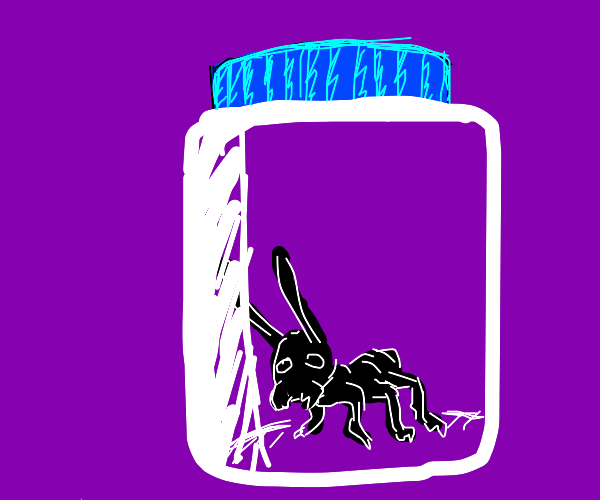 ant in the jar