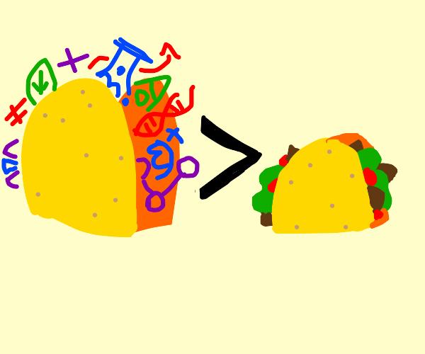 science tacos way better than regular tacos