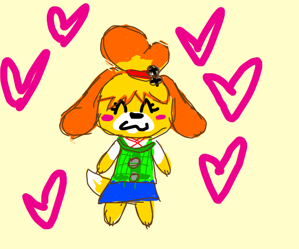 Isabelle is baby