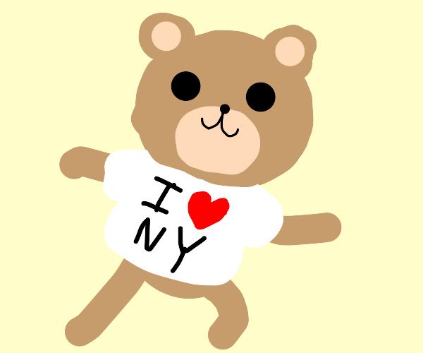Teddy repping New York
