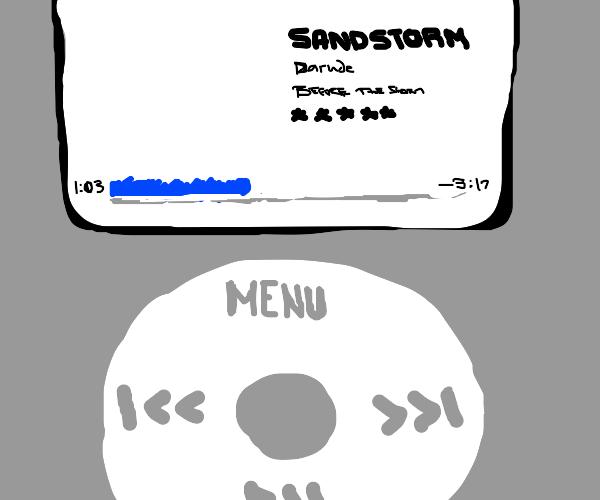 Ah, the ol' classic iPod!
