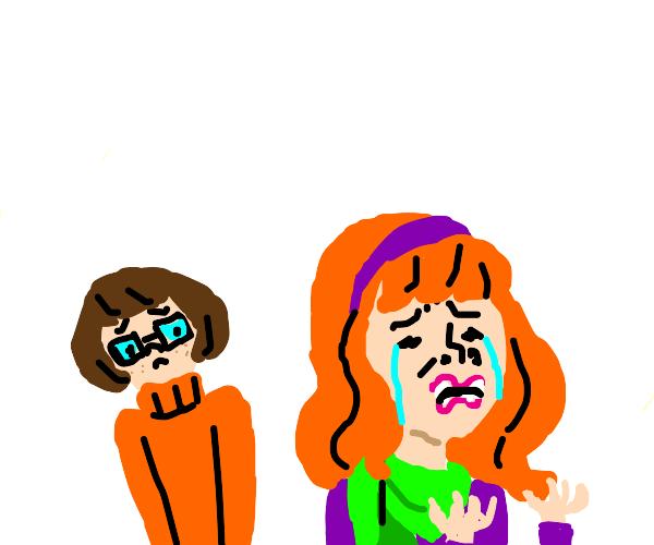 velma is concerned for daphne