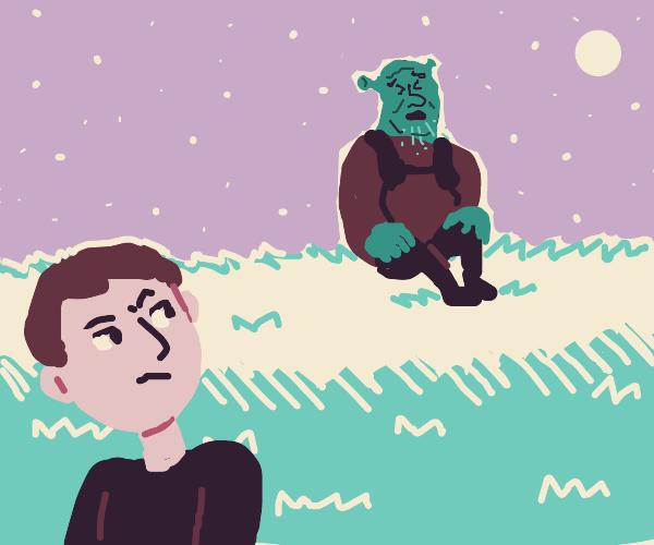 Staring at a Sick Ogre