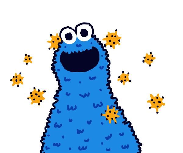 Cookie shaped virus, reason for cookiemonster